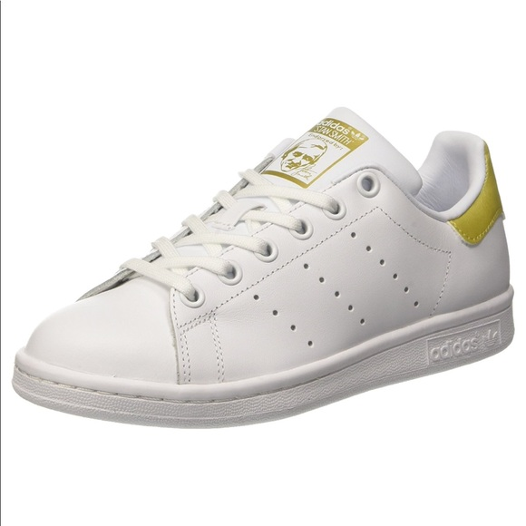le adidas originali stan smith, oro bianco 35 55 poshmark